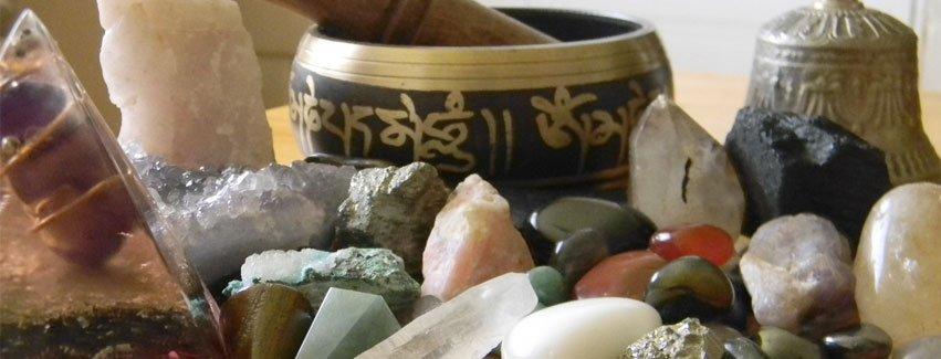 Piedras y minerales preciosos, gemas y cuarzos