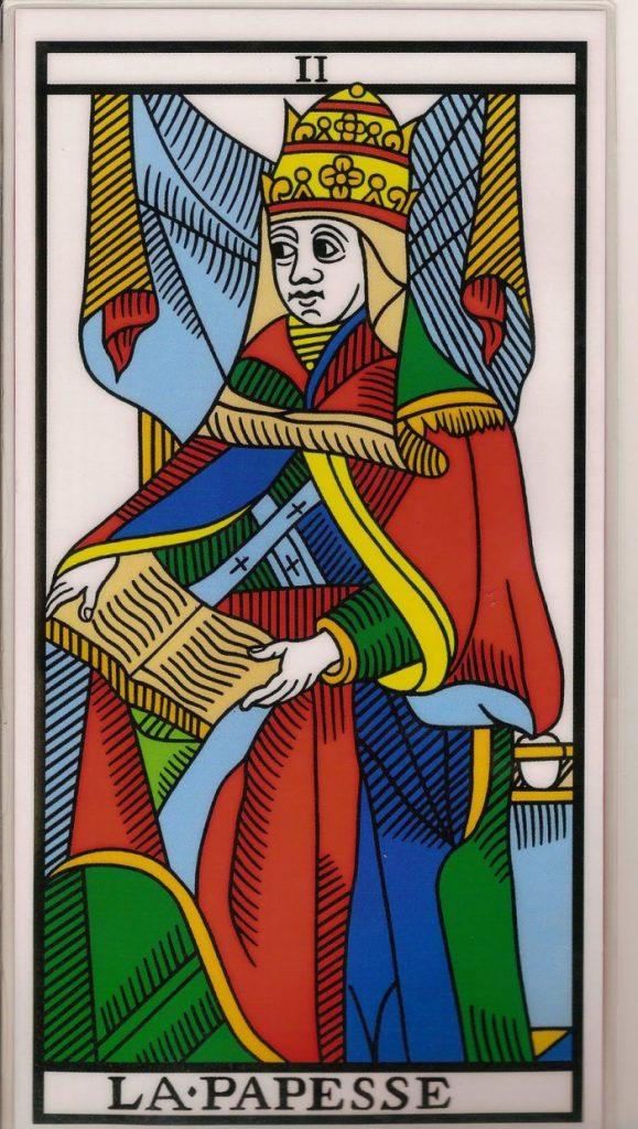 Carta del Tarot, LA SACERDOTISA