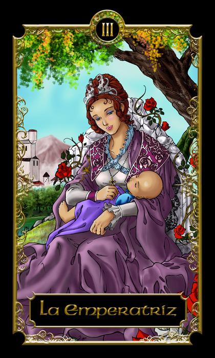 Carta del tarot, La Emperatriz